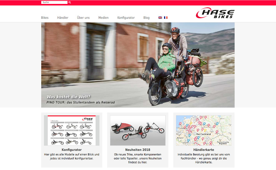 Referenz Hasebikes